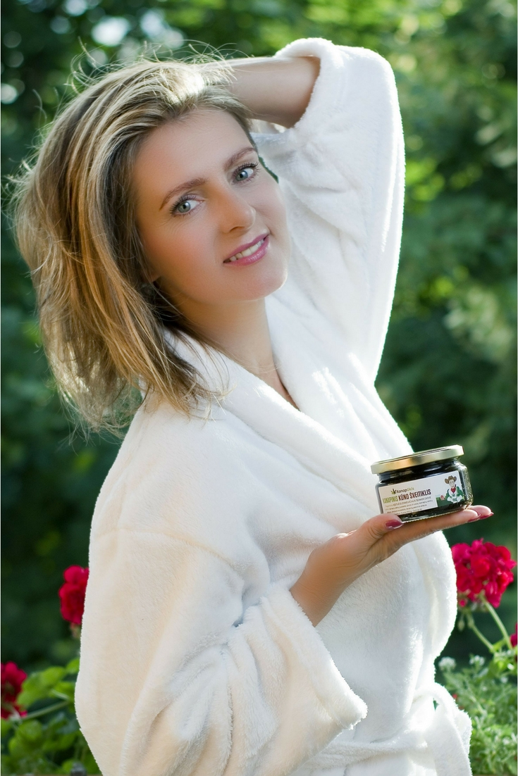Modeling Work for Organic Body Scrub by Kanapukis with Photographer Donaldo Peterson.